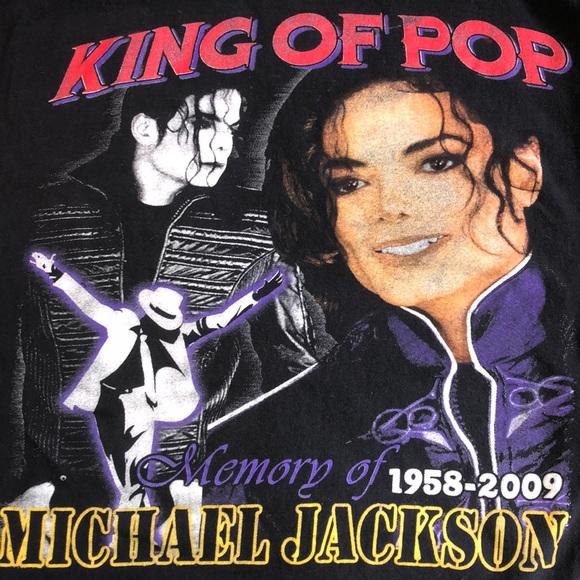 Vintage Michael Jackson king of pop 1958-2009